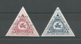 New Zealand 1997 Pigeon-Gram Centenary Y.T. 1524/1525 (0) - Oblitérés