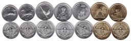 Nagorny Karabakh - Set 7 Coins 50 50 Luma 1 1 1 Dram 5 5 Dram 1994 UNC Lemberg-Zp - Nagorno-Karabakh