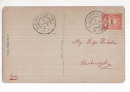 Oudehakse Grootrond Nieuwebrug (FR) - 1909 - Marcophilie