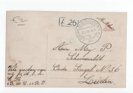 Legerplaats Bij Laren (NH) Kortebalk - 1916 Militair Vrznd - Marcophilie