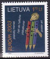 LITAUEN 2003 Mi-Nr. 816 ** MNH - Lituanie