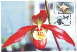 MAX 52 - 50 ORCHID, Romania - Maximum Card - 2005 - Maximumkarten (MC)