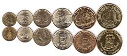 Paraguay - Set 6 Coins 1 5 10 50 100 500 Guaranies 1990 - 2002 AUNC - Paraguay