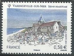 "FR YT 4562 "" Touristique, Varengeville Sur Mer "" 2011 Neuf** - Nuovi"