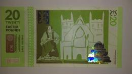 United Kingdom: England 2015: Local Currency Exeter 20 Pounds - 1952-… : Elizabeth II