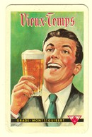 C0382[Speelkaart] Vieux-Temps / Grade - Mot St. Guibert [créas Bier Bière; Klaveren Zeven] - Cartes à Jouer Classiques