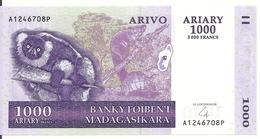 MADAGASCAR 1000 ARIARY 2004 UNC P 89 - Madagascar