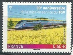 """FR YT 4592 """" Mise En Service Du TGV """" 2011 Neuf** - France"""