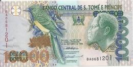SAO TOME ET PRINCIPE 10000 DOBRAS 1996 UNC P 66 A - Sao Tome And Principe