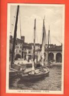 ZAH-26 Desenzano Del Garda Il Porto. Barca.  Foto-cartoline. Non Ha Viaggiato - Italia