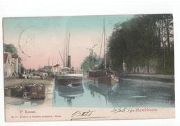 Apeldoorn - T Kanaal - Schip - 1903 - Apeldoorn