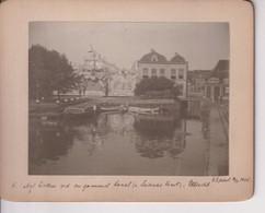 KERMIS TEWE CAFE BILLARD UTRECHT  LEIDSCHE VAART 1906 14*11CM NEDERLAND HOLLAND  Photography - Lieux