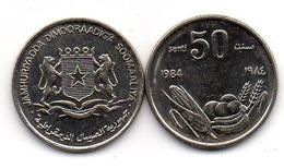 Somalia - 50 Senti 1984 UNC / AUNC Lemberg-Zp - Somalia