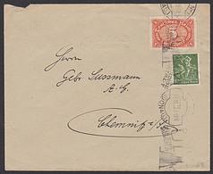 DR 100 Pf Bergmann MWSt. ULM (Donau)  Mi-Nr.: 194 Portogenau, Fernbrief Portoletzttag - Germany