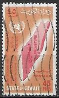 KOWEIT  -   1967 .  Solidarité Avec La Palestine.  45 Fils . Oblitéré - Koweït