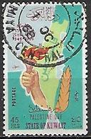 KOWEIT  -   1968 .  Solidarité Avec La Palestine.  45 Fils . Oblitéré - Koweït