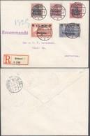 Guerre 14-18 - Affranc. De Complaisance çàd OC5/9 Sur Lettre En R De Brüssel (1915) > Amsterdam. - [OC1/25] General Gov.