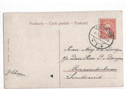 Geertruidenberg Langebalk 1 - 1908 - Poststempel