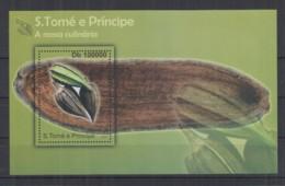 A767. S.Tome E Principe - MNH - 2010 - Plants - Fruits - Culinarie - Cacao - Bl - Vegetales