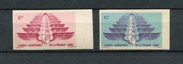 !!! PRIX FIXE : LEVANT PA N°5/6 NON DENTELEES NEUVES ** - Unused Stamps