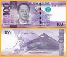 Philippines 100 Piso P-222 2017 UNC Banknote - Filipinas