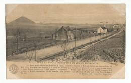 Waterloo Chaussée De Mont-St-Jean à Nivelles Panorama Du Champ De Bataille Carte Postale Ancienne - Waterloo