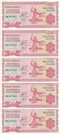 BURUNDI 20 FRANCS 2005 UNC P 27 D ( 5 Billets ) - Burundi