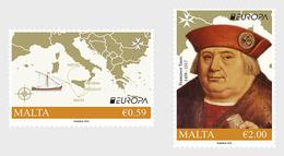 Malta.2020.Europa CEPT.Ancient Postal Routes.2 V. ** . - 2019