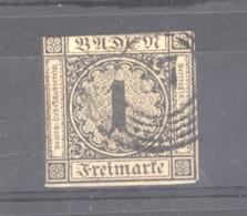 GRX 0676  -  Allemagne  -  Bade  :  Yv  1  (o) - Bade