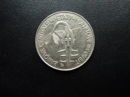 ÉTATS DE L'AFRIQUE DE L'OUEST : 100 FRANCS   1997   KM 4    SUP - Monedas