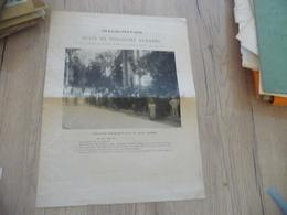 Provençal Occitan Plaquette Inauguration Buste Théodore Aubanel Sceaux 31/06/1887 - Historische Dokumente