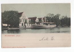 Wormerveer - Noord - Schip - HOtel Jonge Prins - 1901 - Wormerveer