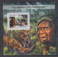 G371. Mozambique MNH - 2016 - Nature- Prehistoric - Human - Bl - Vegetales
