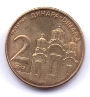 SERBIA 2013: 2 Dinara, KM 55 - Serbia