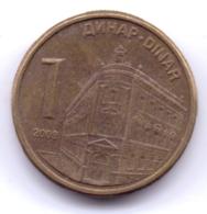 SERBIA 2009: 1 Dinar, Magnetic, KM 48 - Serbia
