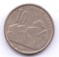 SERBIA 2005: 10 Dinara, KM 41 - Serbia