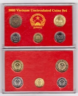 Vietnam - Mint Set 5 Coins 200 500 1000 2000 5000 Dong 2003 UNC In The Booklet Lemberg-Zp - Vietnam