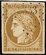 No 1a, Obl Pc, Jolie Pièce. - TB - 1849-1850 Ceres