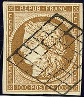 No 1a, Obl Grille, Jolie Pièce. - TB - 1849-1850 Ceres