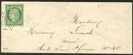 Lettre No 2, Obl étoile Sur Enveloppe Locale, Jolie Pièce. - TB - 1849-1850 Ceres
