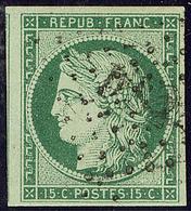 """No 2b, Un Voisin, Obl Losange """"DS 2"""", Jolie Pièce. - TB. - R - 1849-1850 Ceres"""