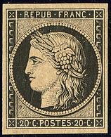 * No 3, Très Frais. - TB - 1849-1850 Ceres