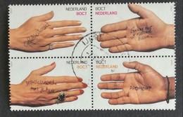Nederland/Netherlands - Nrs. 1878 T/m 1881 In Blokje Van 4 (gestempeld/used) 2000 - Periodo 1980 - ... (Beatrix)