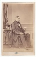 0313 CDV Photografie: Ort U. Fotograf Unbekannt - Portrait, Feiner Herr, Mann Homme Man Gentleman - Old (before 1900)