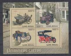 J975. Guine-Bissau - MNH - 2012 - Transport - Cars - Retro Cars - Voitures