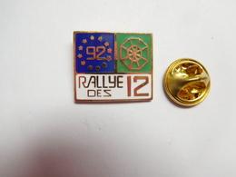Superbe Pin's En EGF , Rallye Des 12 , Auto Rallye ?? - Rallye