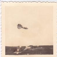 PHOTO ORIGINALE 39 / 45 WW2 WEHRMACHT FRANCE ILE DE RE BALLON ALLEMAND DANS LE CIEL DE SAINT MARTIN - Guerre, Militaire