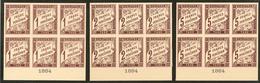 (*) Colonies Générales. Taxe. Nos 15 à 17, En Bloc De Six Bdf Avec Date 1884, Superbe. - RR - Otros