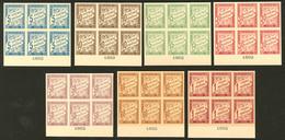 (*) Colonies Générales. Taxe. Nos 18 à 25 (sauf 21), En Bloc De Six Bdf Avec Date 1892, Superbe. - RR - Otros