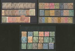 Collection. 1859-1881 (Poste, Taxe), Valeurs Et Obl Diverses, Les 46/59 Et Divers Taxe Sont *. - TB Ou B - Otros